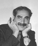 Groucho Marx in classic cigar pose